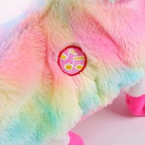 Image 3 - Jouet électrique en peluche, bébé alpagas poupée musicale, jouet amusant et amusant pour animaux de compagnie, Boppi le butin du lama Shakin, têtes secouées, danse, chant