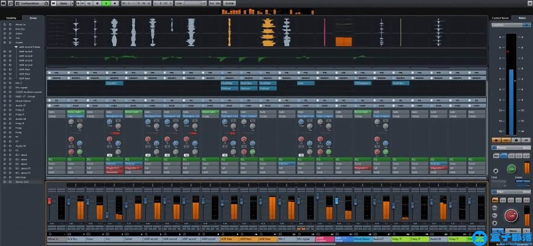 Nuendo 6 功能强大的音频编辑软件