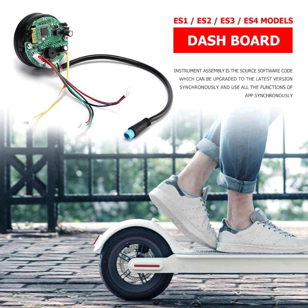 For Ninebot ES1 ES2 ES3 ES4 Dashboard Electric Kick Scooter Circuit Board Parts Panel Display Dash Board Kit Accessories