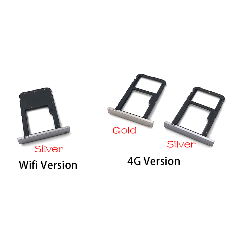 SIM Card Tray Slot Holder Adapter Accessories For Huawei MediaPad T3 10 AGS-L09 AGS-W09 AGS-L03 T3 9.6 LTE Part