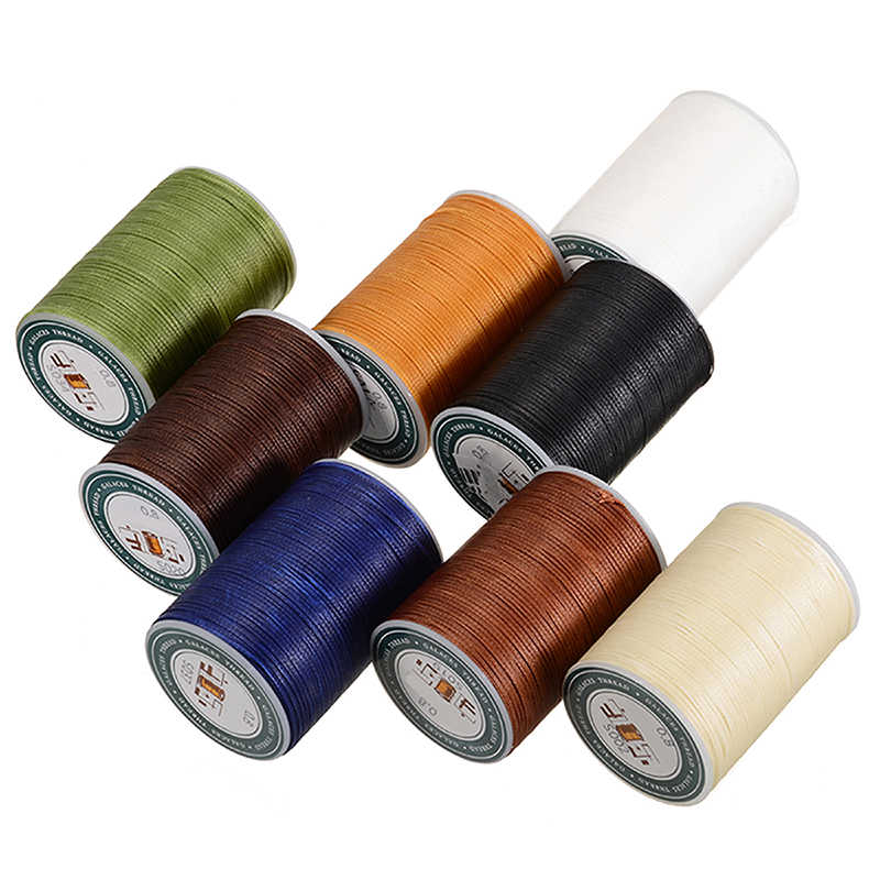 Hot Crafts Leather Tool Handicraft Waxed Thread Cord Sewing String Stitching