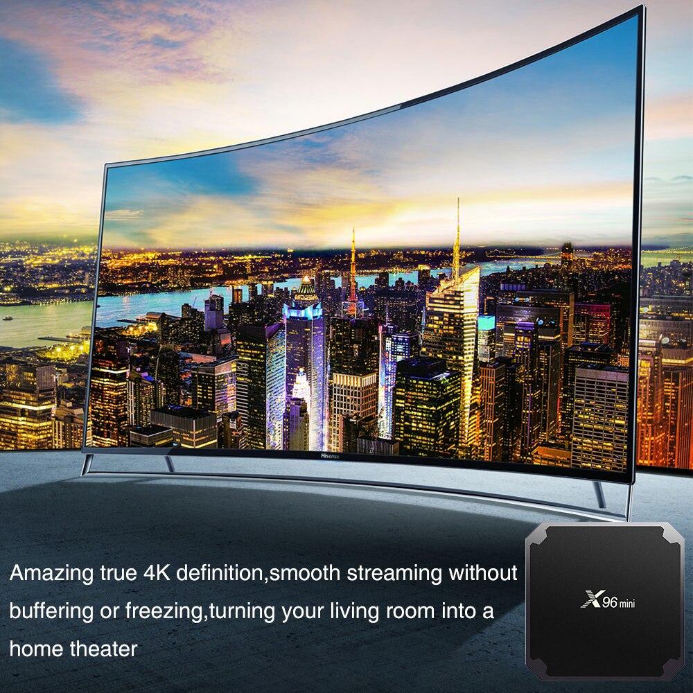 cheapest X96 mini Smart TV BOX Amlogic S905W X96mini Android 9 0 TV box 2GB 16GB 2 4G WiFi 3D 4k Media player Youtube Ship Spain Brazil