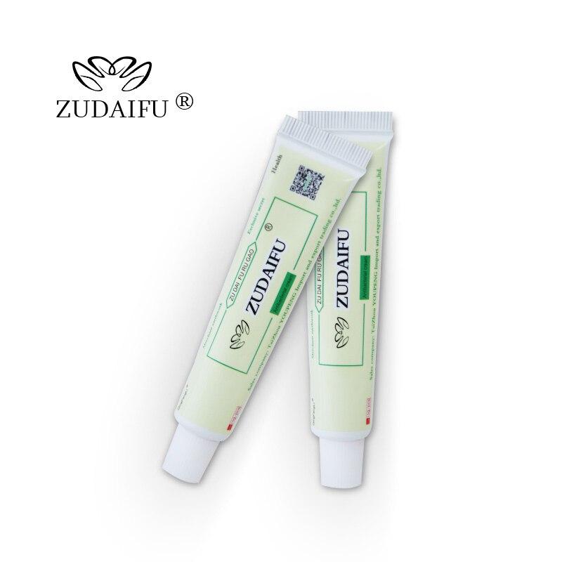Vendita calda ZUDAIFU crema per la psoriasi del corpo cura della pelle 2