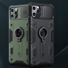 Nillkin CamShield  Armor Case For iPhone 11 Pro Max impact Drop resistance Military Rugged Shield