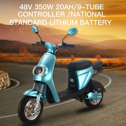 GTR6 48v 350w Lithium Electric Scooter Motorcycle Motorbike Bicycle Electric Bike For Adult Women Men Recharge Electric Vehicles