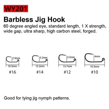Best No1 Barbless Fly Tying Hooks Wet Caddis Fly Hooks Fishhooks cb5feb1b7314637725a2e7: WY001CurveNymph|WY101BarblessEmerger|WY103CurveNymph|WY121Salmon|WY201BarblessJig|WY230TerrestrialDry|WY301StandardDry|WY601StandardWet|WY701Streamer|WY801Streamer|WY901BarblessDry
