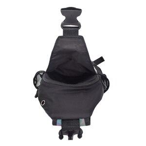 Image 5 - 2021 männer Multifunktionale Rucksack Frauen Geometrische Rucksack Mit Kopfhörer Loch Schule Tasche Unisex Leucht Crossbody Schulter Tasche