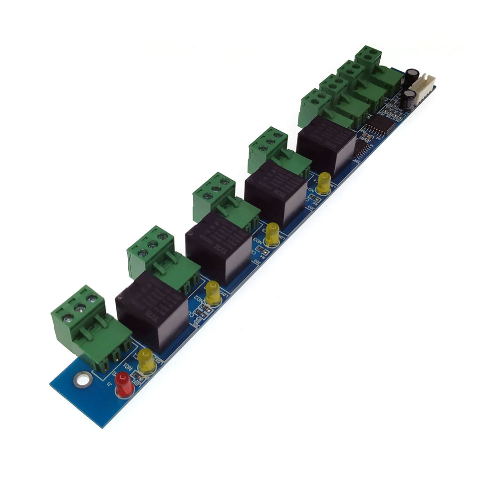 Extend Alarm Board Four Input Four Output Fire Alarm Control Board,  I/O Panel ,compatible With All Our Controller