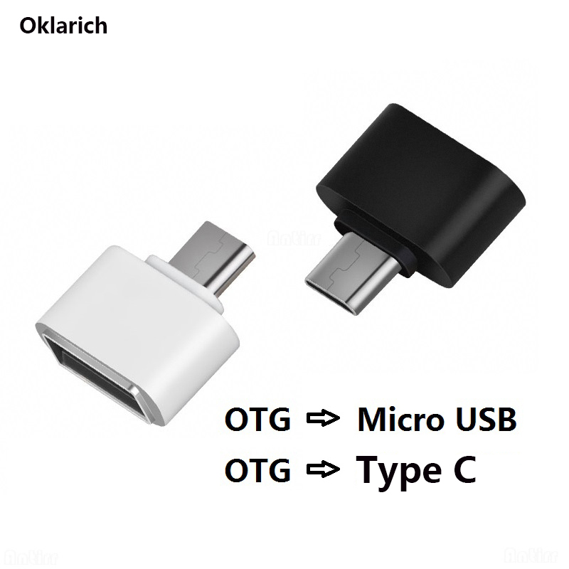 OTG USB Type C Cable Adapter Charging Converter USB 2.0 High Speed Android Phone Accessories For Xiaomi Samsung OnePlus Honor LG