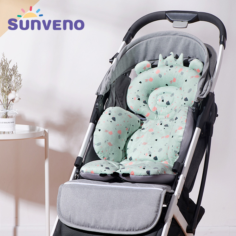 Baby Stroller//Car//High Chair Seat Cushion Liner Mat Pad Cover Protector Breathable(Green)