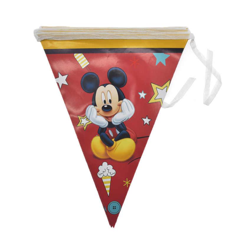Mickey Mouse เด็กธีมวันเกิด PARTY Deco กระดาษถ้วย Straw เด็กครอบครัว Good Friend ทิ้งบนโต๊ะอาหาร