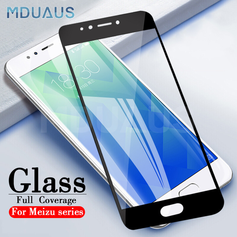 9D Tempered Protective Glass On The For Meizu M8 Lite M8 M6 M5 Note M6S M6T M5S M5C V8 Pro Safety Screen Protector Glass Film