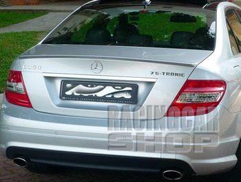 L-TYPE TRUNK SPOILER fit for Mercedes BENZ W203 C-CLASS C180 C200 C230 C320 C240 C55 2001-2007 M011F 1