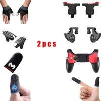 Game Controller Mobile Triggers Pubg L1R1 Keypad Phone Joystick Finger Glove Fingertips Games For Smart Phone Gaming Accessories