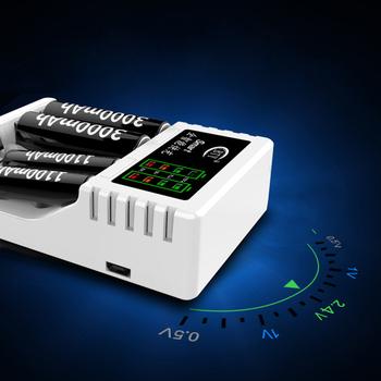 Praktyczne AAA akumulator AA multi-slot inteligentna szybka ładowarka A3 elektronika są wysoce zalecane elektroniki użytkowej tanie i dobre opinie choifoo CN (pochodzenie) Elektryczne Intelligent Fast Charger for AAA AA Battery Wyjście USB Standardowa bateria for 2 4pcs AA AAA Ni-MH Ni-Cd rechargeable battery