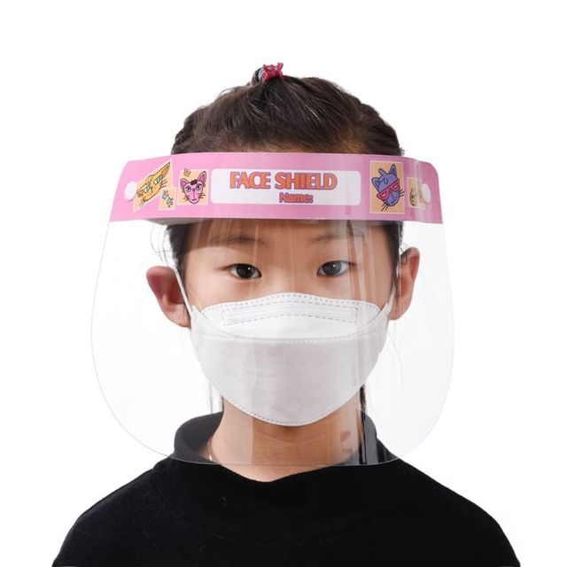 1/3/5pcs Child All-Purpose Face Shield Protective Mask Anti-Saliva Protective Hat Transparent Protective Face Mask Protect Safet 3