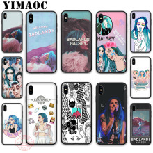 YIMAOC Halsey Colors Lyrics Badlands Soft Silicone Case for iPhone 11 Pro XR X XS Max 8 7 6 Plus 5S SE 7Plus 8Plus
