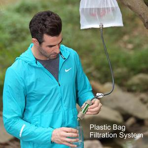 Image 5 - Miniwell water filter system with 2000 Liters filtration capacity for outdoor sport camping emergency survival tool