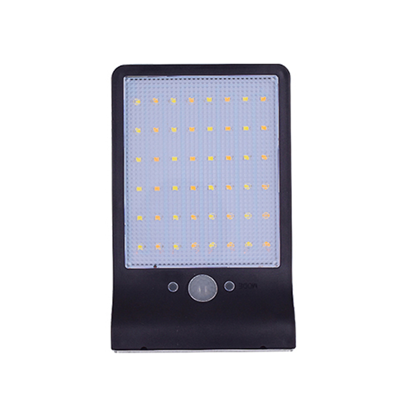 48 LED Lamp Solar Power Wall Light Waterproof PIR Motion Sensor Garden Yard Outdoor Lamp Without Mounting