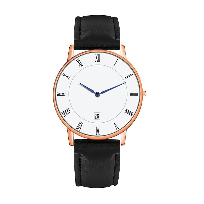 Luxury Brand Woman's Watches Roman Digital Date Watch Blue Pointer Innovation Design Calendar Woman Wristwatch