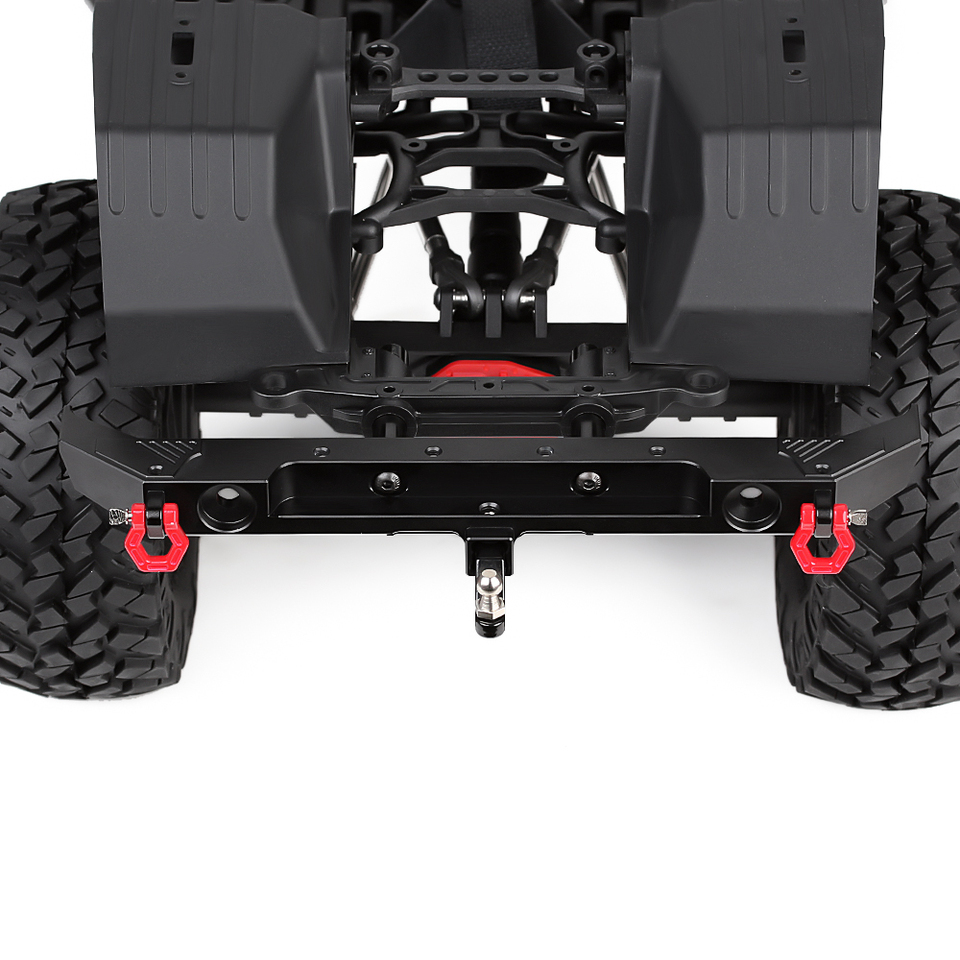 Metal Rear Bumper with D-rings for 1//10 RC Crawler Car Axial SCX10 III AXI03007