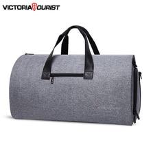 Victoriatourist Travel กระเป๋ากระเป๋าผู้ชายผู้หญิงกระเป๋าเดินทางกระเป๋าอเนกประสงค์ชุดสำหรับธุรกิจทำงาน Leisure