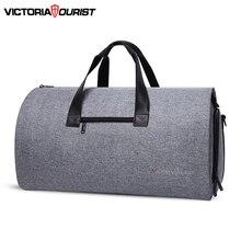 Victoriourist sac de voyage pour hommes et femmes, sac de vêtement polyvalent pour costume daffaires et de loisirs