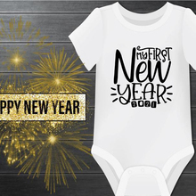 Baby Onesie Romper Cotton Bodysuit Infant Boys New-Year My Cute First Ropa Happy