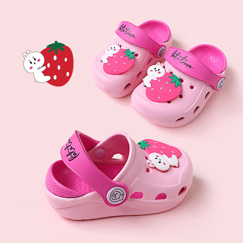 Garden Cave Shoes Infant Sandals Baby Shoes Slippers Summer Baby Boy Shoes Cute Cartoon Baby Girls Shoes Toddler Kid Slippers