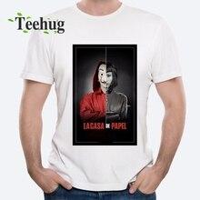 Bella ciao la casa de papel T shirt Plus size Tees Money Heist t Summer Streetwear Tee Homme Camiseta