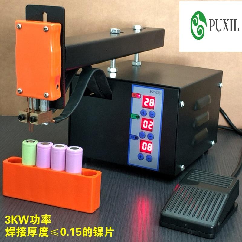 JSD-IIS spot welder, Household Manual point welder, lithium battery welder, small battery welder 110V / 220V фото