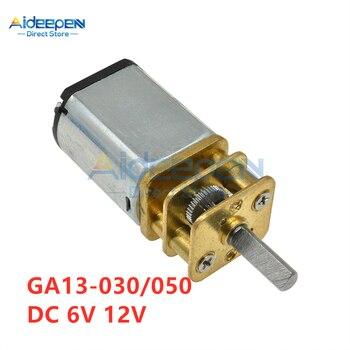 GA13-030 GA13-050 DC 6V 12V 30/60/100/150/200/300 przekładnia silnikowa przekładnia reduktora prędkości silnik szybki silnik
