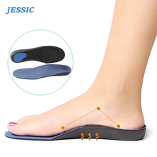 JESSIC Flat Feet Arch Support Insoles Orthopedic Height High Quality Premium Comfortable Plush Cloth Orthotic Foot Pad