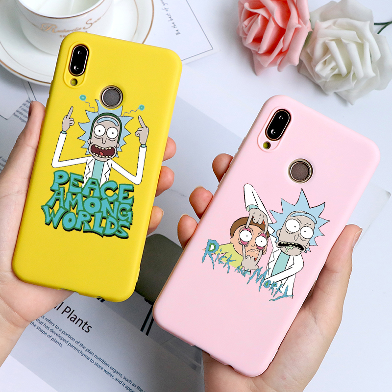 Rick And Morty Funny Cartoon Comic Meme Case For Huawei Mate 30 20 10 P20 P30 Lite Pro