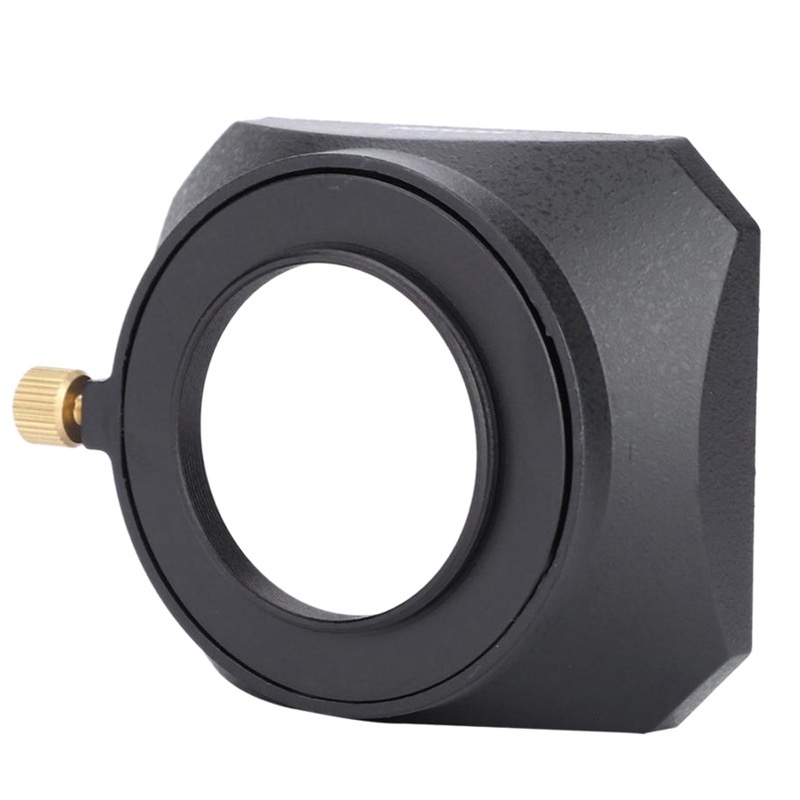Retail NEWYI Square Shape Lens Hood For Fuji Nikon Mini Single Camera 46mm/ 49mm/ 52mm/ 39mm/ 40.5mm/ 43mm/ 55mm/ 58mm/ 37mm
