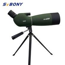 SVBONY SV28 50/60/70 мм 3 типа с фокусирующей оптикой для наблюдения точечных целей Водонепроницаемый телескопа+ штатив мягкий чехол для наблюдения за птицами стрельба из лука блочного Лука F9308Z