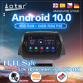 Android 10,0 автомобильный DVD плеер GPS навигация для Ford Fiesta MK7 2013 2014 2015 2016 радио авто стерео видео мультимедиа головное устройство