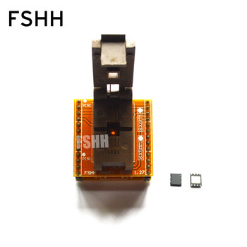 QFN-0808-01 Adapter QFN8/D8 WSON8-DIP8 Programming Adapter DFN5x6A-8 Test Socket