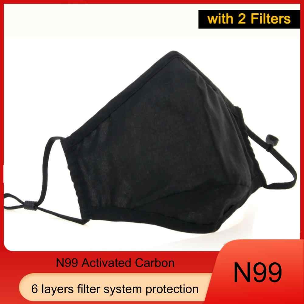 face mask for smoke protection with filter n99
