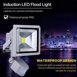 Светодиодный прожектор 10/20/30/50 Вт с датчиком движения, водонепроницаемый, AC220V, 240 в, PIR, Светодиодный прожектор IP65, уличный прожектор, точечный...