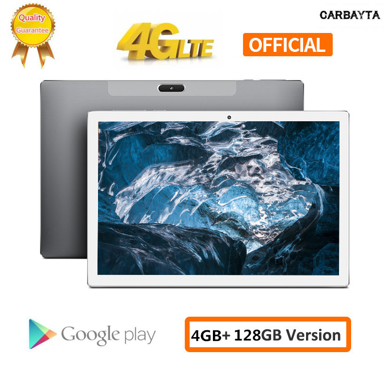 Add 64GB TF Card Tablets PC 10 Inch Andriod 8.0 1920*1200 Deca Core MTK6797 4GB RAM 128GB ROM Type-C GPS Wifi Support PUBG Game