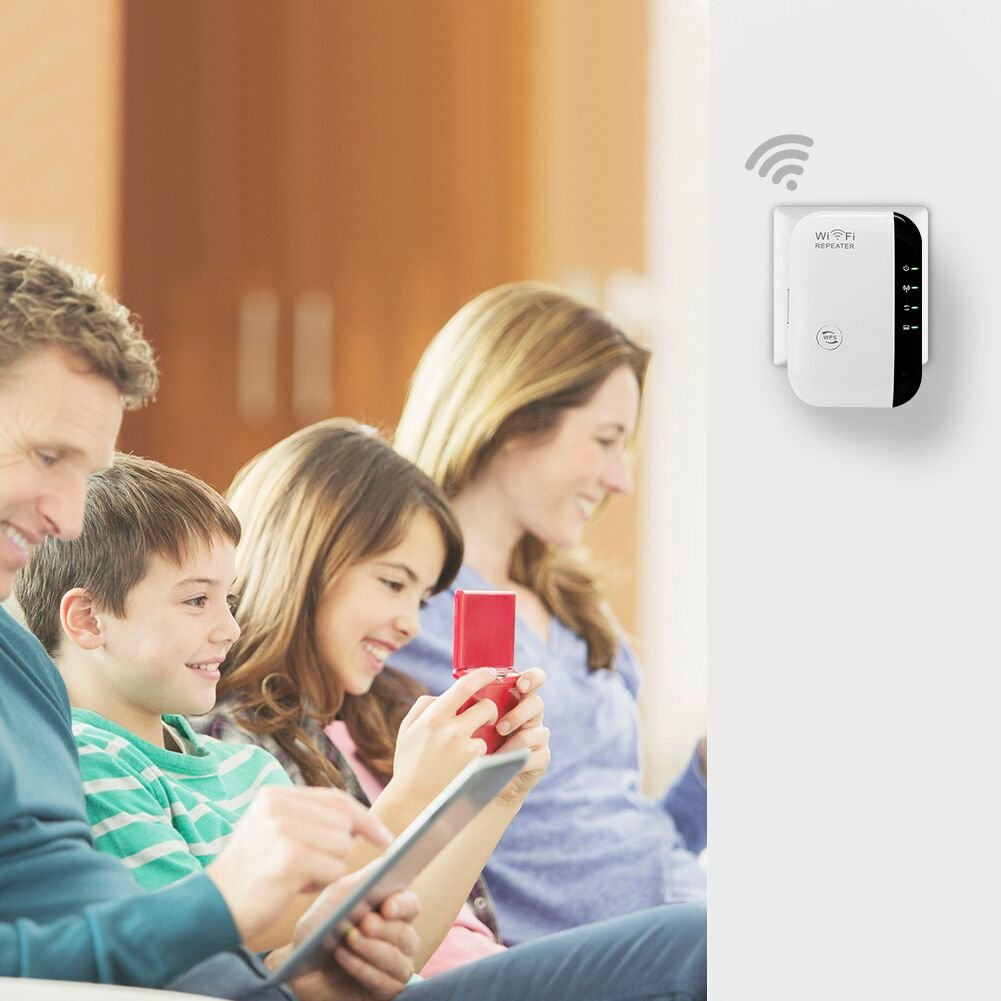IsMyStore: Wireless Wifi Repeater 300Mbps Network Wifi Extender Long Range Signal Amplifier Internet Antenna Signal Booster Access Point