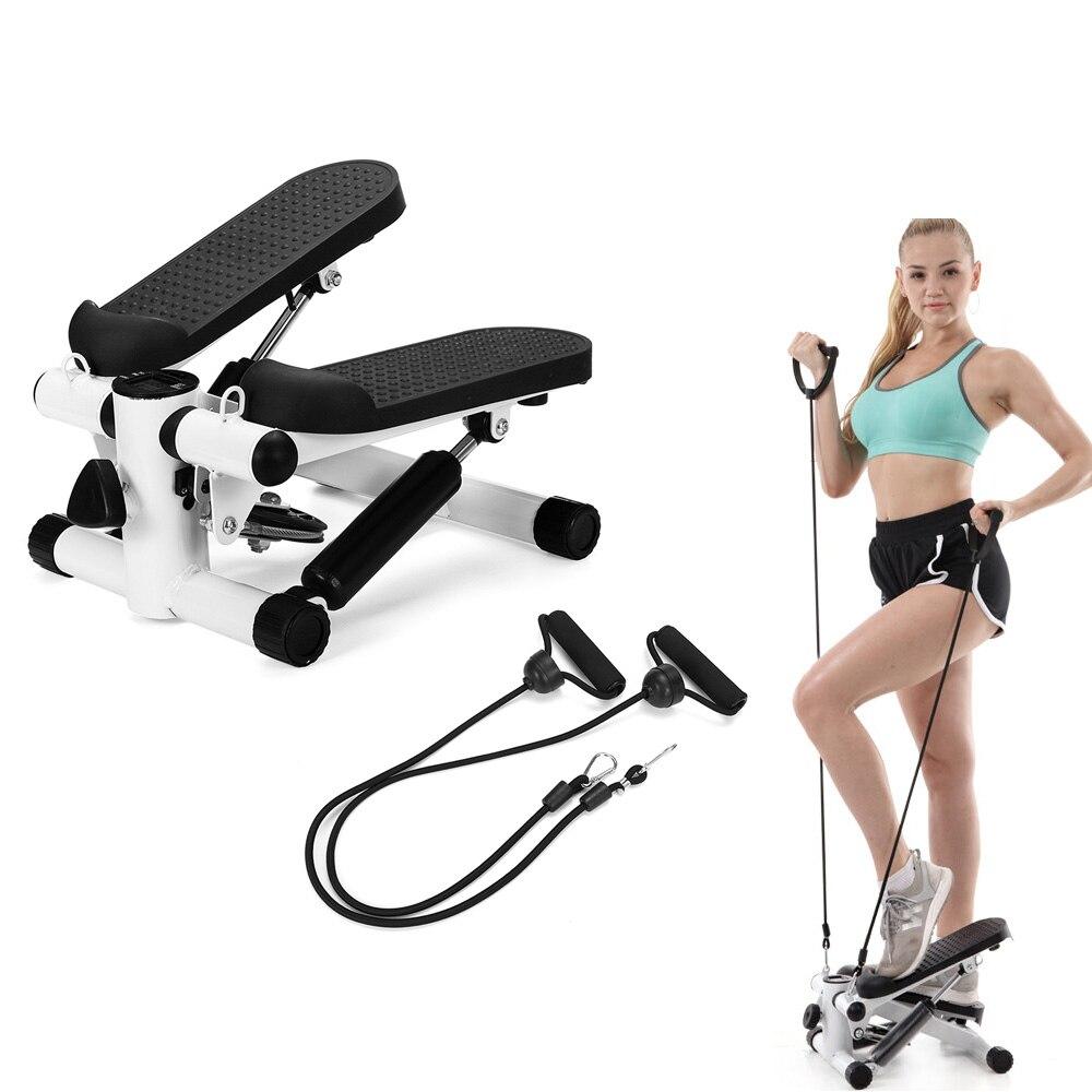 Мини-беговая дорожка, педали для дома, Тихая гидравлическая лестница, альпинисты, домашний фитнес-оборудование для похудения ног