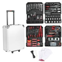 999Pcs Repair Kit Box Hand Tool Set Repair Hand Tool Kit With Plastic Toolbox Storage Case Hand Tool Sets HWC