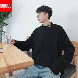 Image 2 - גולף מזדמן T חולצת גברים ארוך שרוול אביב סתיו היפ הופ אופנה כושר Tees זכר Harajuku הגדול Streetwear T חולצות