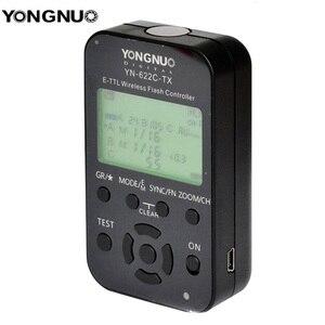 Image 2 - 永諾 YN 622C TX YN622C TX 液晶ワイヤレス e ttl フラッシュコントローラ 1/8000 8000s フラッシュトリガー用一眼レフカメラ