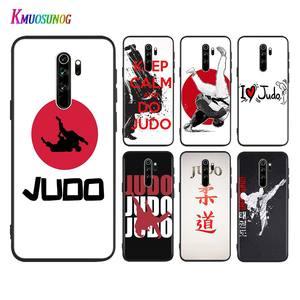 Judo Taekwondo For Xiaomi Redmi K30 Ultra 10X 9A 9C 9i 9 Prime GO K20 8A 8 7A 7 S2 6A 6 Pro 5G Black Phone Case