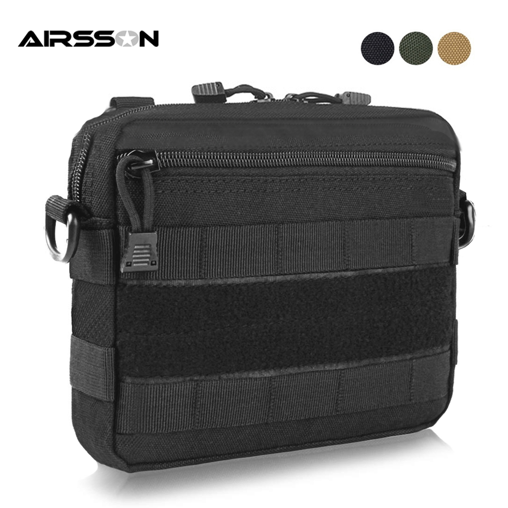 Tactical Accessory Bag Molle Pouch 1000D Muti functional Military Storage Bag Utility EDC Gear for Vest Backpack Hunting Bags