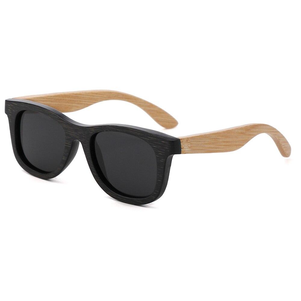 BerWer çocuk Ahşap Güneş Gözlüğü Polarize Bambu marka güneş - Elbise aksesuarları - Fotoğraf 1