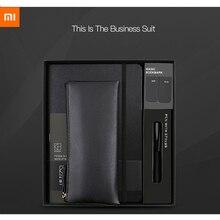 Nowy Xiaomi Kinbor garnitur pióro Notebook zakładki piórnik biuro prezent garnitur praktyczne wysokiej jakości